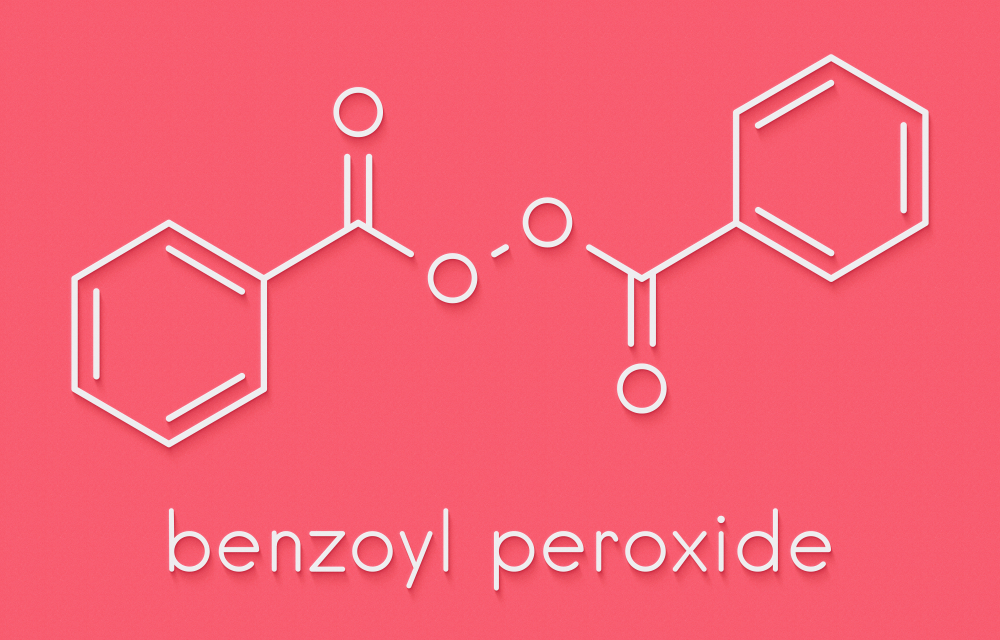 Benzoyl peroxide is one of the best ingredients for cleaning out pores and eliminating bacteria that can cause acne.